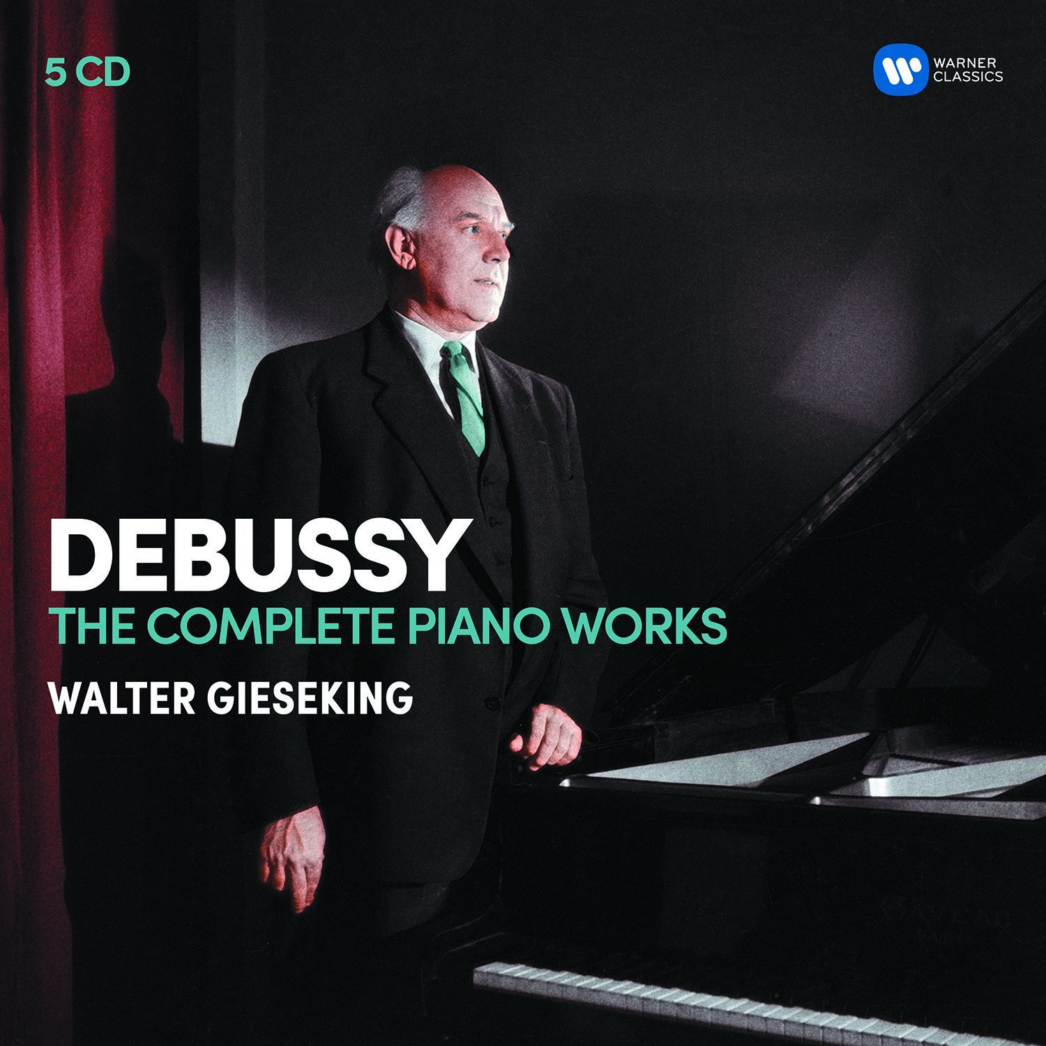 Debussy: The Complete Piano works (5CD) by Warner Bros.