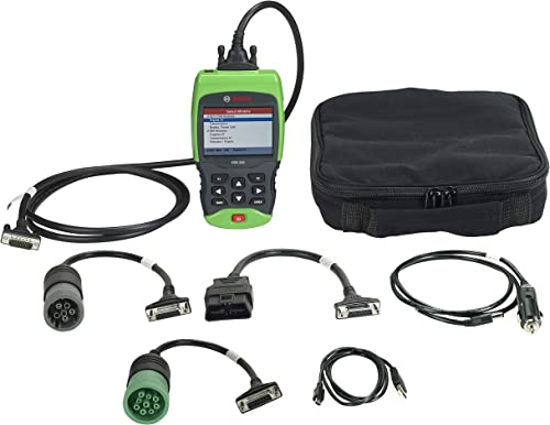 Bosch 1699200240 HDS 250 heavy duty truck scan tool is an excellent choice for professional mechanics who want to make quick diagnoses on the road.