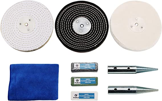 2-12 Inch Sisal Cloth Buffing Wheel Polishing Pad Disc for Iron Stainless Steel