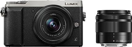 Panasonic dmc-gx80wefs cámara DSLM 16,84Mpx, Negro/Plata
