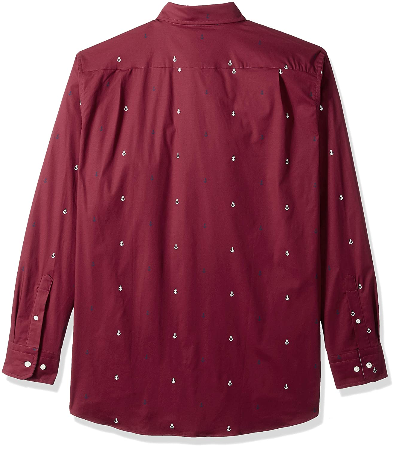 Nautica Mens Big and Tall Classic Fit Long Sleeve Multicolor Button Down Shirt