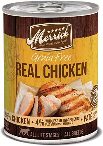 Merrick Grain Free All Breeds Adult Wet Dog Food Case of 12