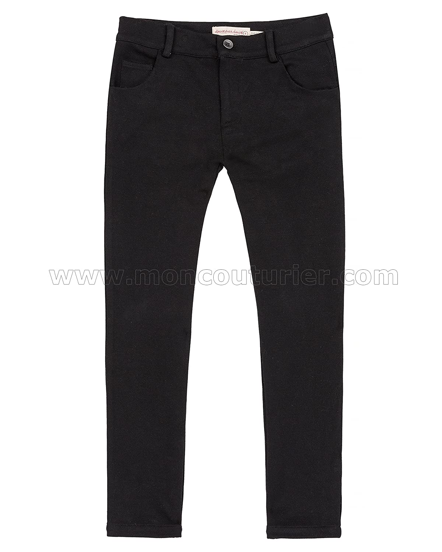 Deux par Deux Boys Black Stretch Pants Suit up Sizes 2-12