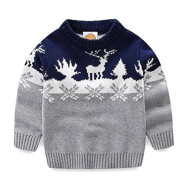 Toddler Boys Girls Turtleneck Pullover Base Tops Sweater Amazonco