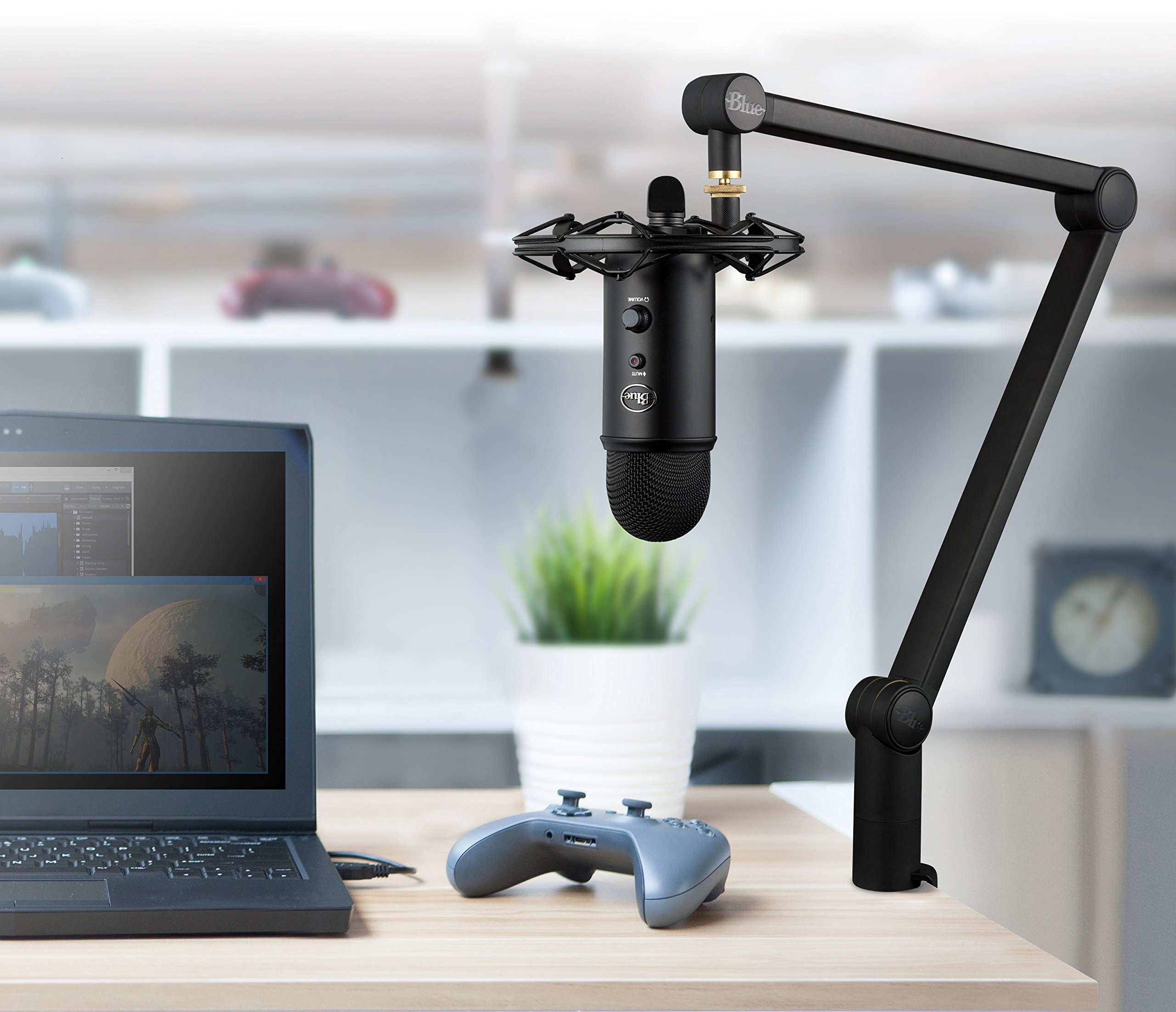 Blue Compass Premium Tube-Style Broadcast Boom Arm by Blue Microphones (Image #3)