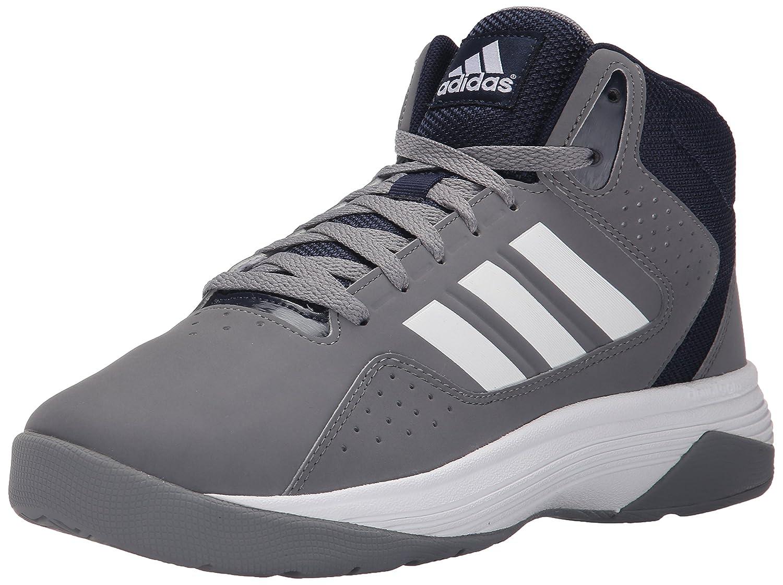 balsa Paleto obispo  Buy Adidas Performance Men's Cloudfoam Ilation Mid Basketball Shoe,  Grey/White/Collegiate Navy, 10.5 M US at Amazon.in