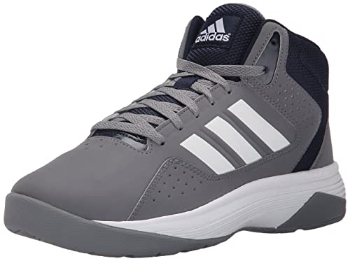huge discount 02dc6 cda30 Adidas Performance Men s Cloudfoam Ilation Mid Basketball Shoe, Grey White Collegiate  Navy, 11 M US  Buy Online at Low Prices in India - Amazon.in