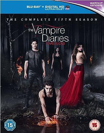 Amazon.com: The Vampire Diaries - Season 5 [Blu-ray] [2014 ...