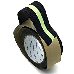 Pusdon Anti Slip Non Skid Safety Tape, Luminous, Green Glowing in The Dark Safety Stage, 2-Inch x 15Ft (50mm x 4.75m)