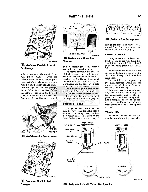 Bishko Automotive Literature 1961 1962 1963 Ford Convertible Tops Wiring Diagram Of 63 Thunderbird W Manual Shop Cd Oem
