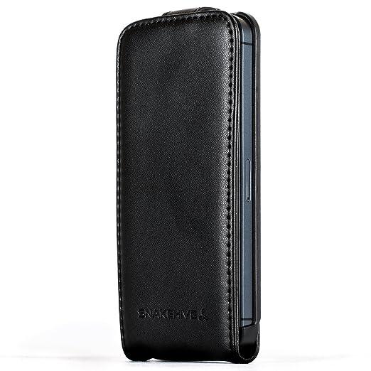 7 opinioni per Snakehive® Apple iPhone 5 / 5S In pelle laminata Custodie a chiusura stile Flip