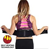 Ziraki Adjustable Lumbar Lower Back Support Massage Brace Self-heating Magnetic Therapy Belt Relieve Pain And Stress FDA Approved