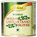 Roland Sicilian Castelvetrano 52.9 oz Whole Olives Can