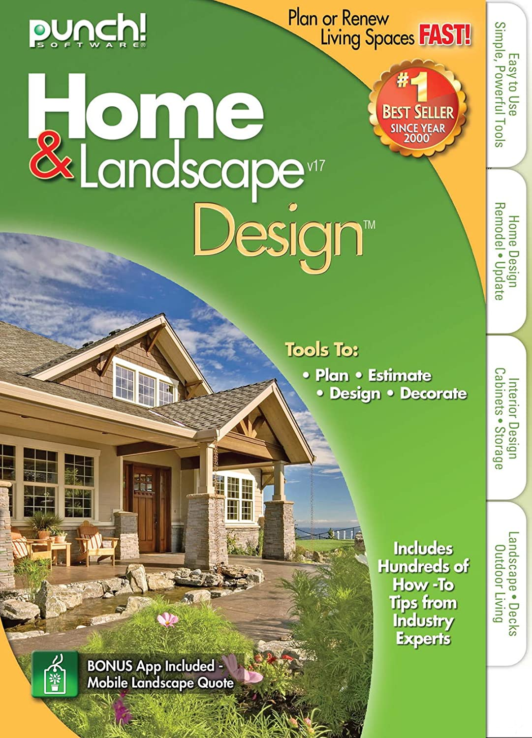 Amazon Punch Home Landscape Design Version 17 Software