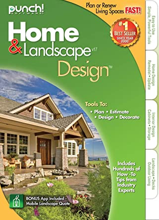 Amazon.Com: Punch Home Landscape Design Version 17: Software