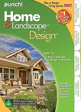 Amazon.Com: Punch Home Landscape Design Version 17: Software