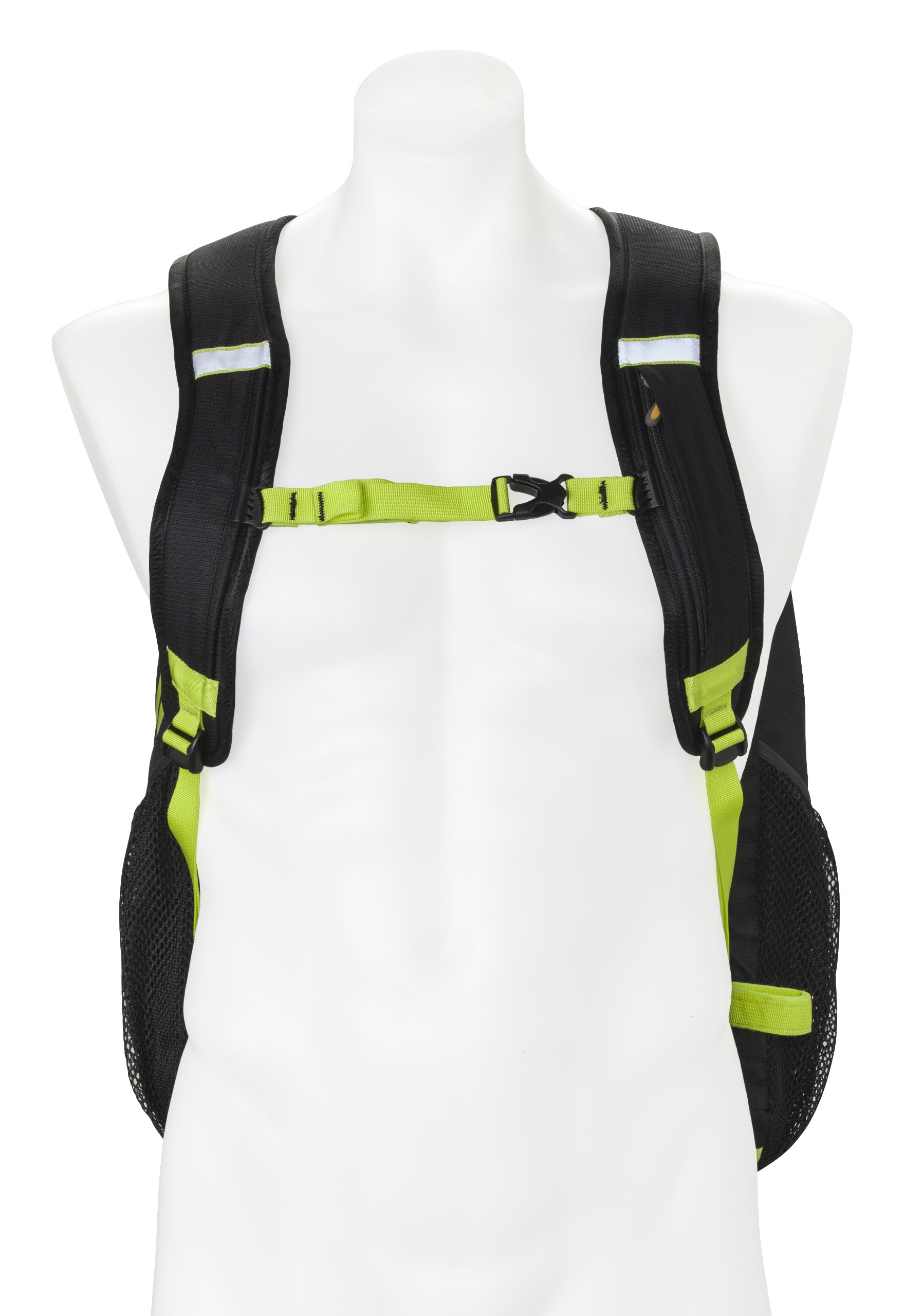 Nathan Flight Control Bag, Black/Sulphur Spring, One Size by Nathan (Image #3)