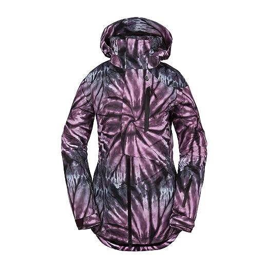 Amazon.com: Volcom - Chaqueta de nieve para mujer, diseño de ...