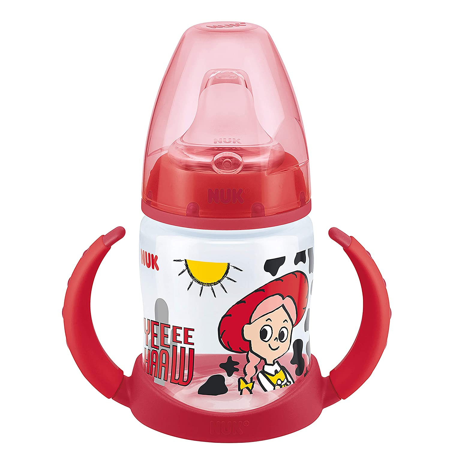 grau NUK 10215269 Disney Mickey Mouse First Choice Trinklernflasche BPA frei ab 6 Monate 150 ml