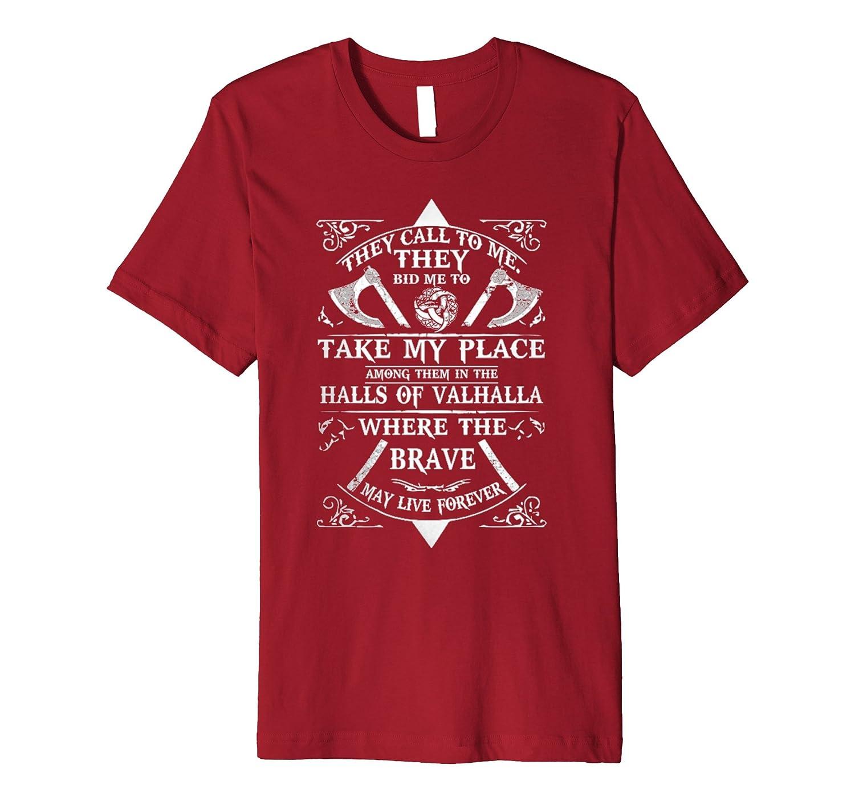 34f3bd6893 Amazon.com: Halls Of Valhalla - The Crusader Shirt: Clothing