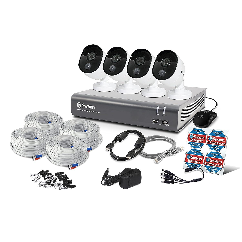 swann 4 x thermal sensing cameras 1080p amazon co uk diy tools rh amazon co uk