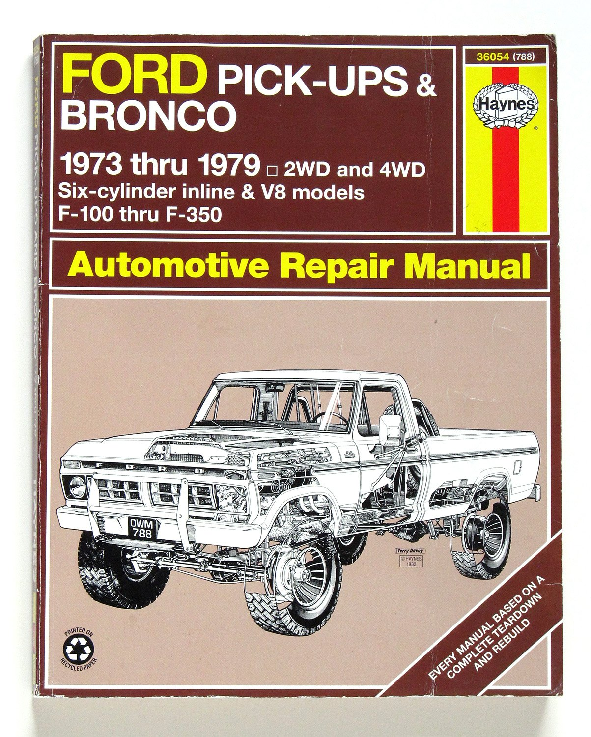 amazon com haynes repair manuals ford pick up bronco 73 79 rh amazon com ford capri workshop manual ford capri service manual