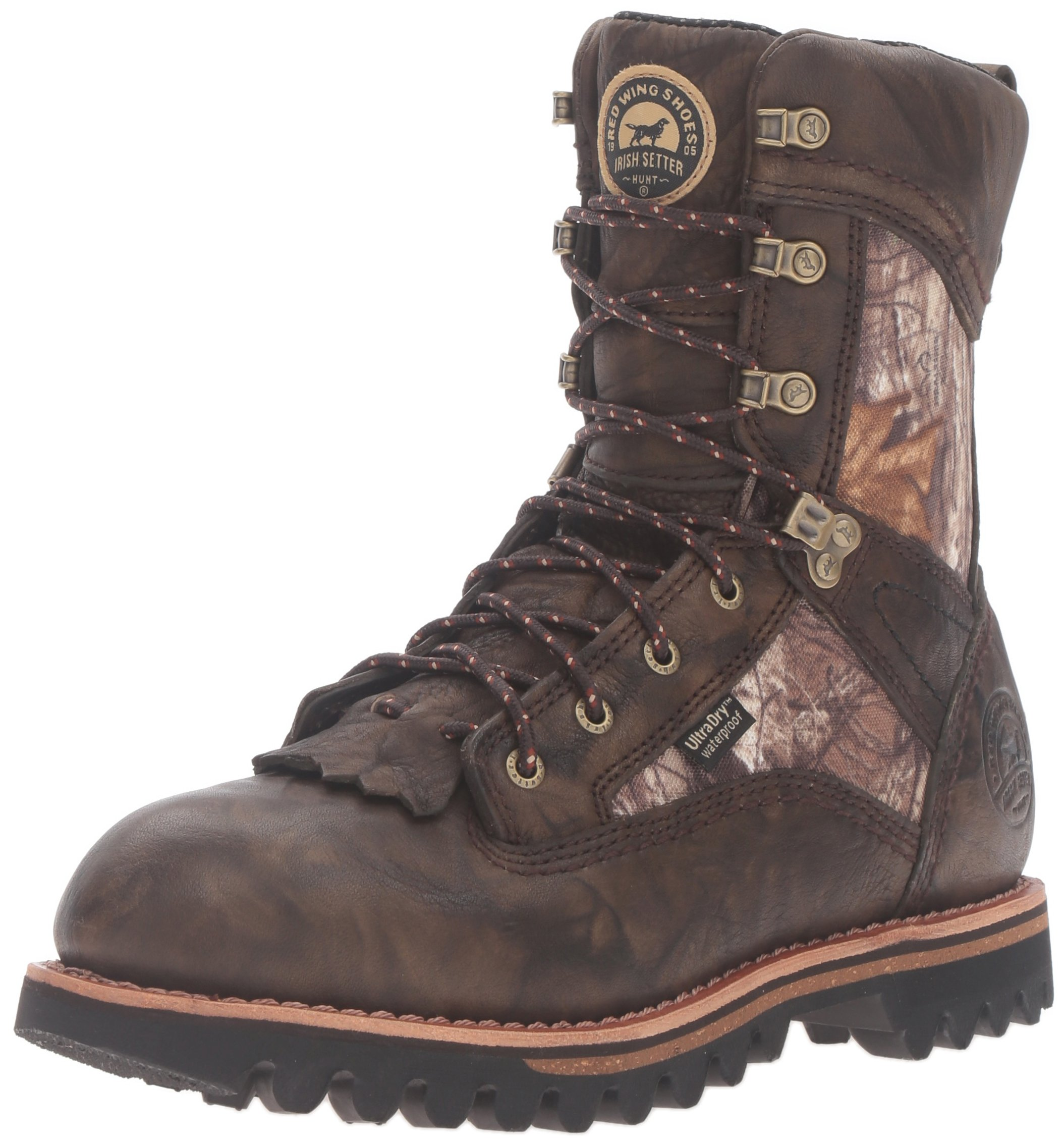 Irish Setter Men's Elk Tracker 885 400 Gram Hunting Boot, Realtree Xtra, 10.5 D US