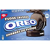 OREO Chocolate Fudge Covered Cookie Snacks, 224g, Thanksgiving Cookies
