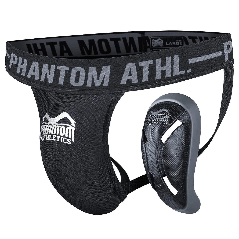 Phantom Athletics Protección Profunda Vector con Copa - Negro