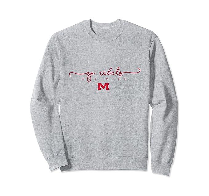 Amazon Com Ole Miss Rebels Hotty Toddy Ncaa Women S Sweatshirt