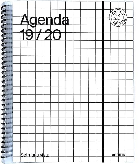 Amazon.com : Universal Catalan Agenda 2019-20 Week to View ...