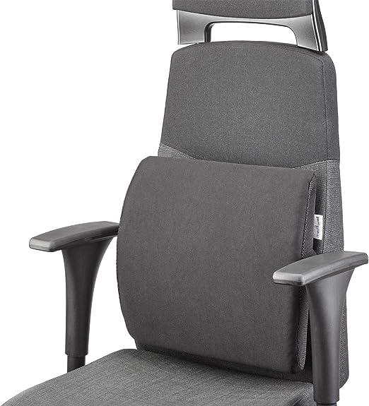 MEDIWELL Almohada lumbar ortopédica para silla de oficina | Cojin ...