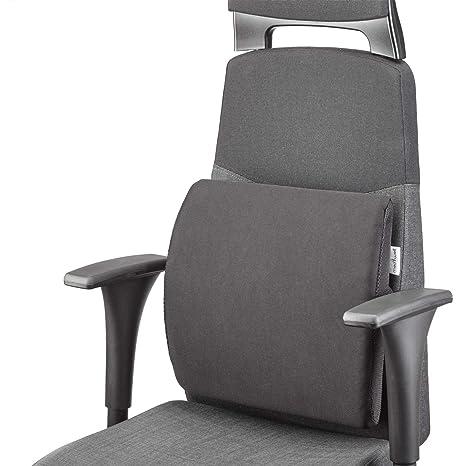 MEDIWELL Almohada lumbar ortopédica para silla de oficina | Cojin de apoyo lumbar | Cojín dorsal