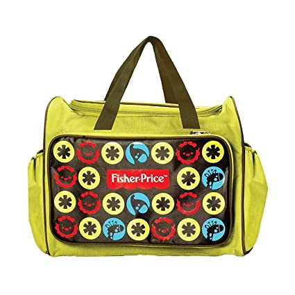 a9d0c7a776 Buy Fisher-Price Diaper Bag (Green) Online at Low Prices in India -  Amazon.in
