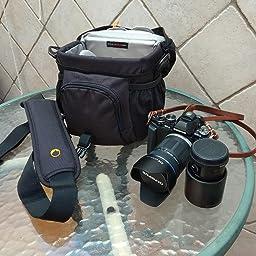 Lowepro Nova 180 AW - Bolso Bandolera para cámaras réflex, Negro ...