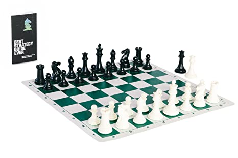 enjoyable ideas cheap chess sets. Tournament Chess Set with Heavyweight Game Pieces Durable Board and  Strategy Guide Amazon com The Best 100 Enjoyable Inspiration Ideas Wooden Image