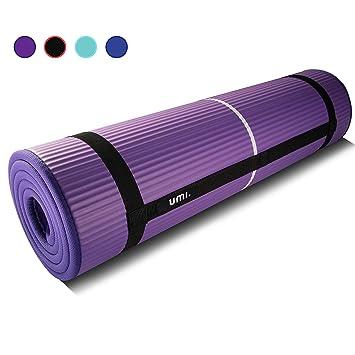 UMI. Essentials Colchón para Yoga NBR Colchoneta Antideslizante Ideal para Pilates Ejercicios Fitness Gimnasia Estiramientos