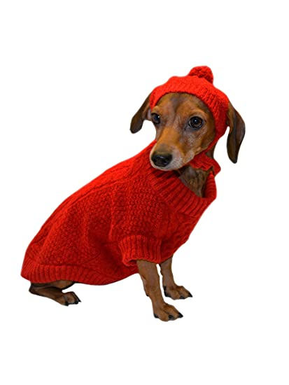Amazoncom Moshiqa My Best Friend Dog Sweater With Matching Hat