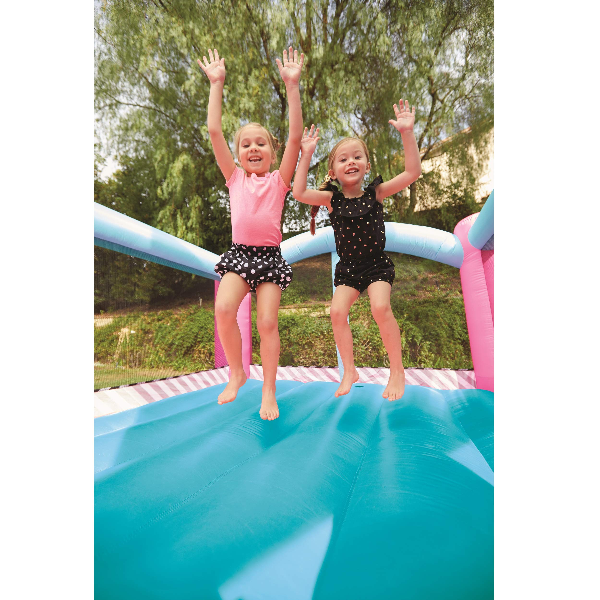 L.O.L. Surprise Jump 'n Slide Inflatable Bounce House with Blower by Little Tikes (Image #3)
