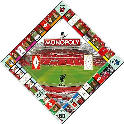 Liverpool FC Monopoly Juego de Mesa: Amazon.es: Deportes y aire libre