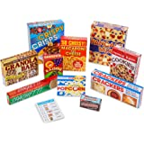 Melissa & Doug Let's Play House! Grocery Shelf Boxes (Pretend Play, Pre-Assembled, Sturdy Cardboard, 11 Pieces)