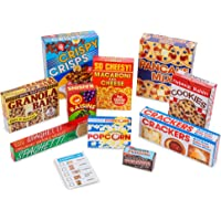 Melissa and Doug MD5501 Let's Play House! Grocery Shelf Boxes,multi colored