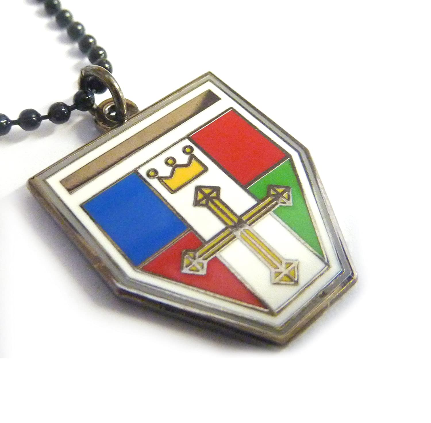 Amazon voltron defender of the universe crest mini shield amazon voltron defender of the universe crest mini shield necklace pendant w ball chain everything else biocorpaavc