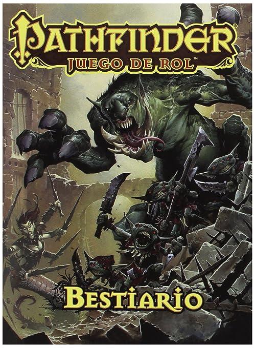 Devir- Pathfinder Bestiario, edición de Bolsillo (PFBESTP)
