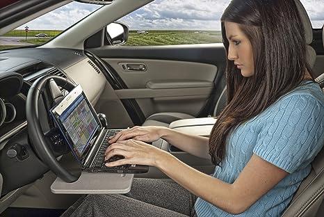 Amazon.com: AutoExec Wheelmate Steering Wheel Attachable Work ...