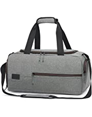 077eb3615d2 MarsBro Gym Bag Sports Holdall Travel Weekender Duffel Bag with Shoe  Compartment for Men and Women