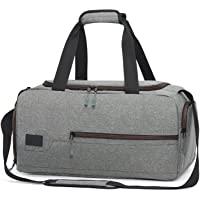 4d5eda406f7f MarsBro Water Resistant Sports Gym Travel Weekender Duffel Bag with Shoe  Compartment