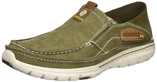 Dockers by Gerli 38mn009-702850, Chaussures Bateau Homme, Marron (Khaki 850), 44 EU