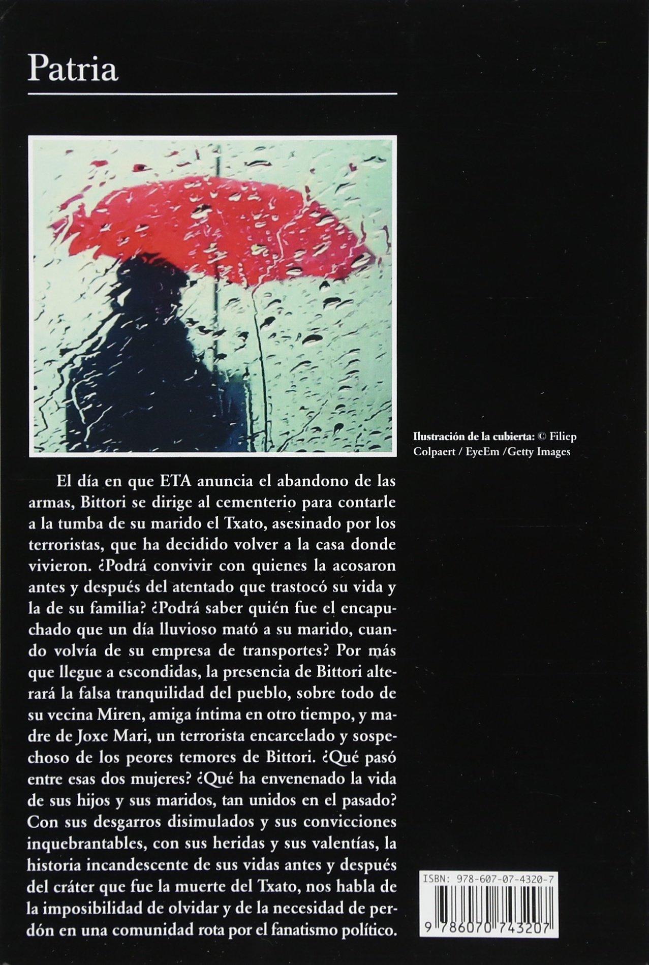 Patria: Amazon.es: Aramburu: Libros