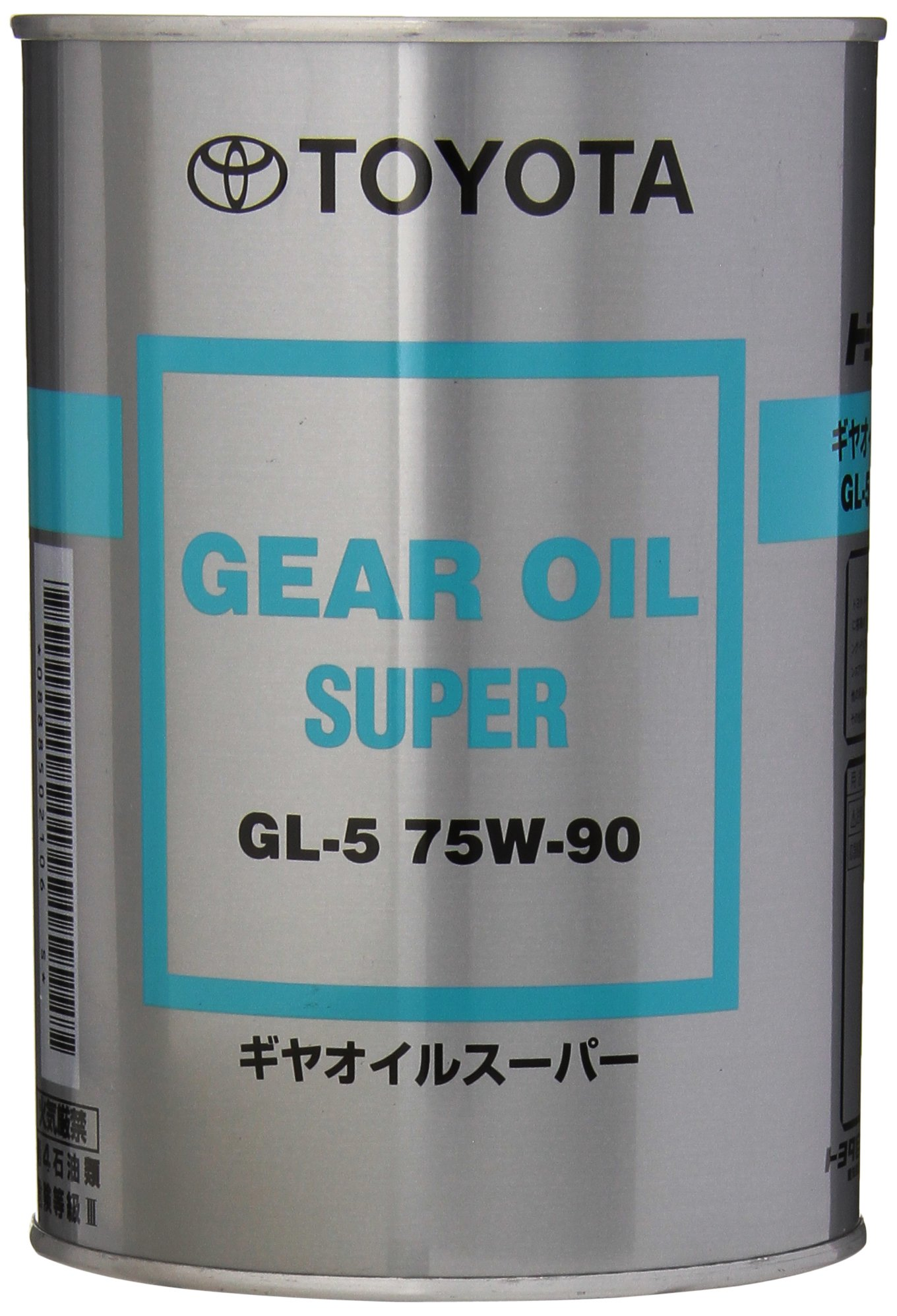 Toyota Genuine Parts 08885-02106 Hypoid API GL-5 75W-90 Gear Lube - 1 Quart by TOYOTA
